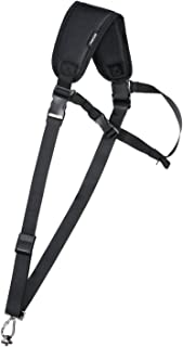MOSISO Camera Shoulder Strap Adjustable Polyester Neck Quick Release Belt Anti-Drop Safe Tether with Accessory Pouch for D...