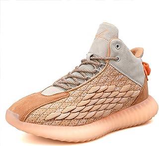 WYEZ Scarpe Uomo da Pallacanestro Leggere Basket Sneakers Alte Sportive Esterno Scarpe Ginnastica Jogging Casual Atletiche...