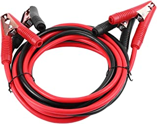 Qiilu Cables de Arranque con Pinzas para vehículos 4 m 2000 Amp