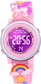 VAPCUFF Gifts for 3-10 Year Old Girls, Watches for Girls Toys for Girls Ages 4-10 Best Fun Birthday Gifts for 3 4 5 6 7 8 Years Old Girls - Unicorn Pink