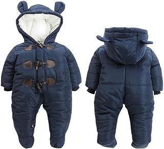 822c171b8 Mordarli Baby Girls Boys Snowsuit Hoodie Romper Jacket Winter Outwear  Jumpsuit