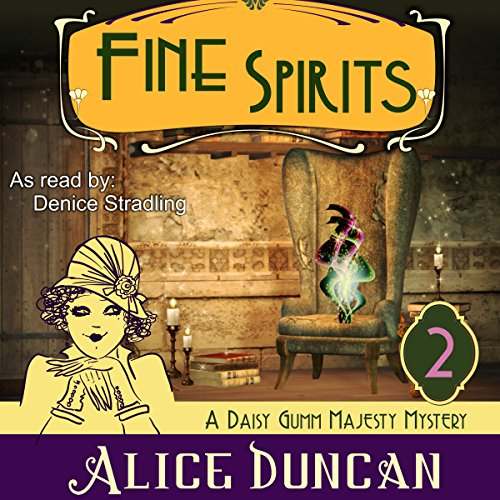 Fine Spirits audiobook cover art