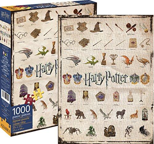 Aquarius Harry Potter Ikonen Puzzle (1000Teile)