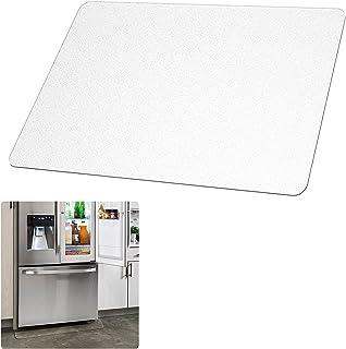 冷蔵庫 マット キズした傷防止 凹み防止 冷蔵庫下マット 透明 床保護マット 傷防止マット 冷蔵庫 転倒防止 冷蔵庫 下敷き M サイズ (65*70cm)厚み2.0mm~500Lクラス ONYS