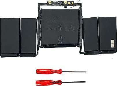 Notebook Ersatzakku A1819 A1706 f r Apple MacBook Pro 13 quot A1706 Mitte 2016 MPXV2LL MLH12LL 11 41V 4314mah