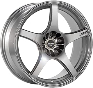 19x9.5 Enkei RP03 (Silver) Wheels/Rims 5x114.3 (396-995-6522SP)