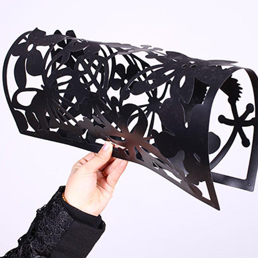 12 piezas mariposa pájaro flores colgar pantallas DIY Divisor de ...