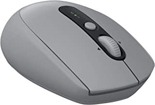 Logitech M590 Silent Wireless Mouse, Multi-Device, Bluetooth or 2.4GHz Wireless Mouse with USB Unifying Receiver, 1000 DPI...