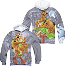 Scooby Doo Scooby and Shaggy All-Over Print Pullover Hoodie
