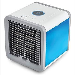 Mini Ventilador de Aire Acondicionado portátil Refrigerador de Espacio Personal La Forma rápida y fácil de Enfriar Cualquier Espacio Escritorio de Oficina en casa Aire Acondicionado-2
