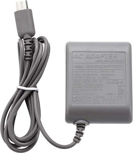 DS Lite Charger, AC Adapter for Nintendo DS Lite, AC Adapter Charger Home Travel Charger Wall Plug Power Adapter (100...