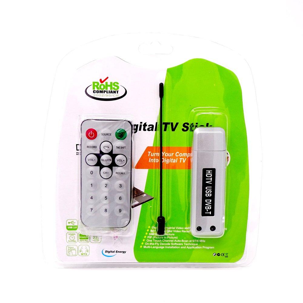Vinciann Antena Receptor DAB TV USB Canales señal + Mando a distancia Televisión PC Radio: Amazon.es: Electrónica