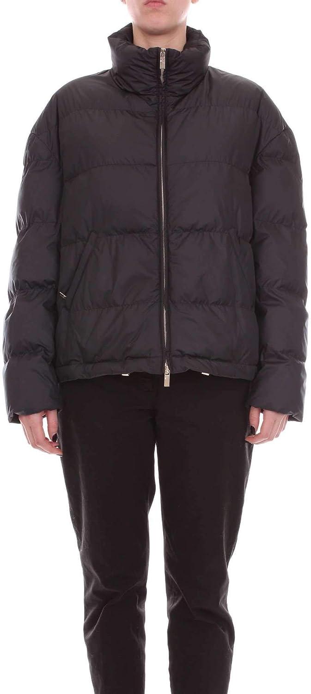bluegirl Women's 6802BLACK Black Polyester Down Jacket