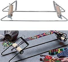 Joyibay Telar de Cuentas Marco de Metal Artesanía Bricolaje Telar de La Joyería de Telar para Collar Pulsera