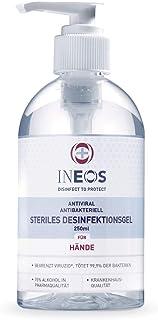 INEOS Hygienics 4260680910020 Handdesinfektionsmittel auf Alkoholbasis Krankenhausqualität 75% Alkohol in Pharmaqualität Hygiene wie im Krankenhaus für zu Hause, 1 stück