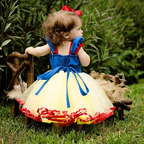 Celiy Baby Dresses Newborn Girls 3 Years Blue Kids Baby Girl Lovely Lace Party Vintage Vestidos Princess Tulle Tutu Dresses Ramadan Festival 4th of July Gifts