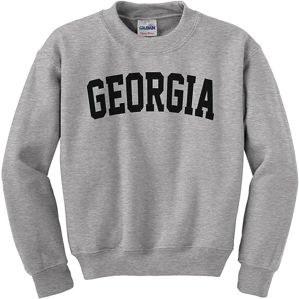 Mesa Mall Georgia College Style Kids Youth Soldering Sweatshirt