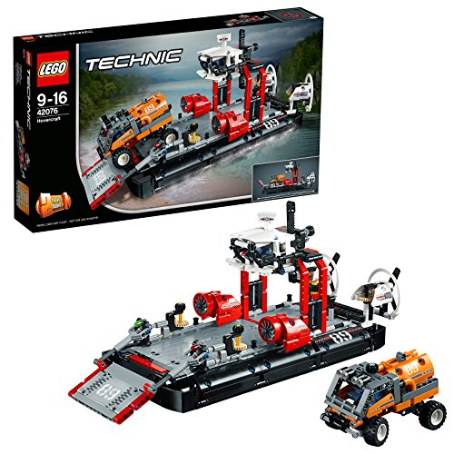 LEGO Technic 42076 - Luftkissenboot, Set für geübte Baumeister