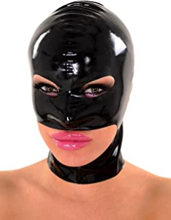 Rubber Latex Accessories Hood Holes for Eyes Nose and Jaw
