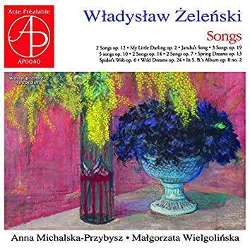 Władysław Żeleński - Songs