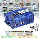 日光ボックス スーパーパンドラボックス Retrorange Pi 贈17082 in 1 128GB 家庭ミニテレビゲーム機 HDMI出力 レトロゲーム サポートArcade/FC/SFC/MD/GBA/PS/N64/ NEOGEO用互換機