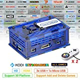 TAPDRA Arcade Video Game Station with 17082 Games, Support Add and Delete Games, 128GB Fast Card Retro Orange Pi PC Gaming Kit, Plug and Play, HDMI USB Port (2 Gamepad Included)