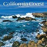 California Coast 2020 12 x 12 Inch Monthly Square Wall Calendar with Foil Stamped Cover, USA United States of America Pacific West State Nature (English, French and Spanish Edition)