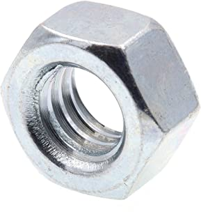500 Pc 3//8-24 Slotted Hex Nuts//Steel//Zinc Carton