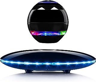 Levitating Speaker,Magnetic Levitating Bluetooth Speaker with LED Lights,Wireless Floating...