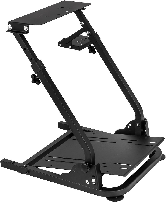 Mophorn G29 G920 Racing Steering Wheel Stand G25 G27 G29 G920 Racing Wheel Pro Stand Wheel Pedals Not Included Gaming Racing Simulator Wheel Stand