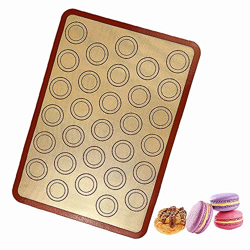 hongyupu Tapis de Cuisson Tapis Cuisson Silicone Tapis en Silicone Plaques à pâtisserie Non bâton réutilisable Plaque à pâtisserie antiadhésive
