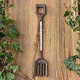 Antikas - Außenthermometer als Forke Thermometer im Landhausstil Temperaturmesser