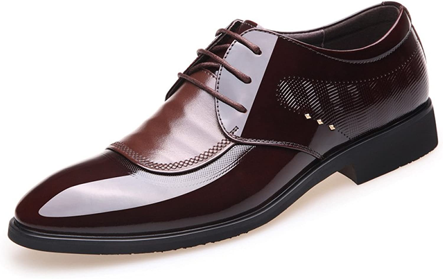 LEDLFIE Men's Real Leather shoes Leather Formalwear Business Leather shoes Men's shoes