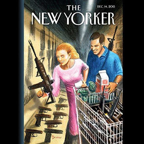 The New Yorker, December 14th 2015 (Ginger Thompson, Ariel Levy, Malcolm Gladwell) audiobook cover art