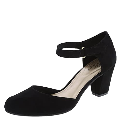a9218474d9c4 Black Shoes Size 12 Women s Block Heels  Amazon.com
