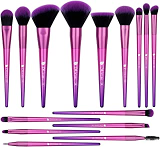 DUcare Makeup Brush Set 15Pcs Professional Makeup Brushes Premium Synthetic Kabuki Foundation Concealer Eye Face Blending Brushes Kit