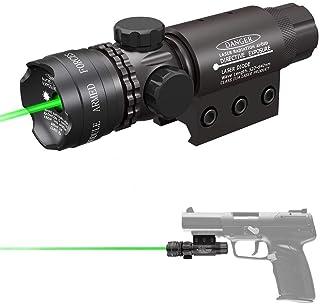Lampe de Poche LED pointeur Laser Vert Tactique HANYUEXIA /Él/éments daccessoires pour Pistolet /à Eau
