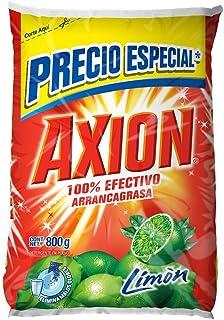 Axion Lavaplatos en Polvo Limón, 800 gr