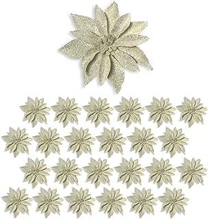 Best burlap poinsettia flowers Reviews