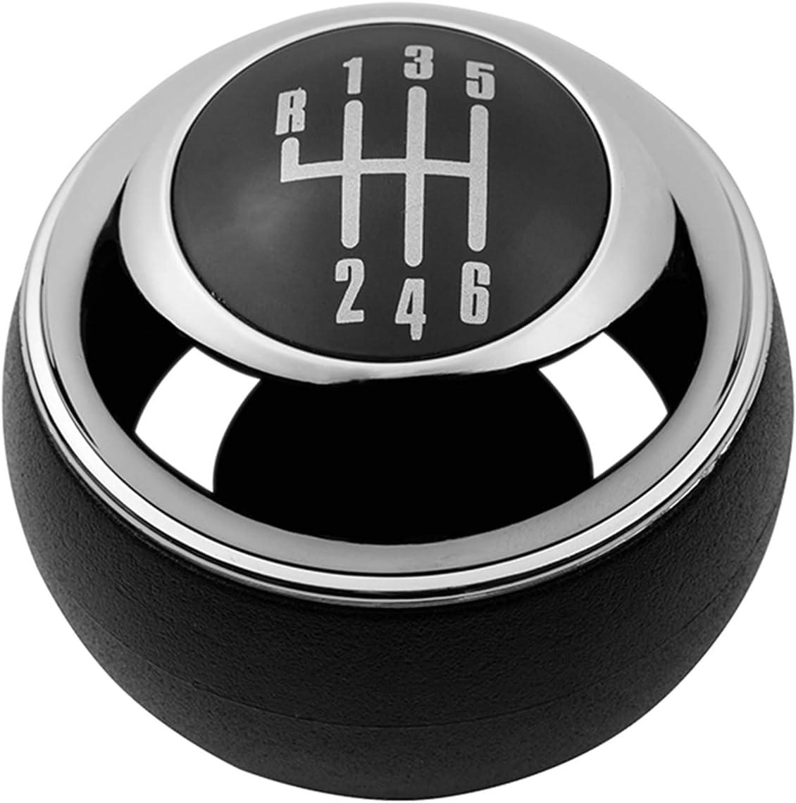 RONGSHU 5/6 velocidades cromadas Engranaje Negro Mando de Cambio Palanca de Palanca de Palanca de Palanca para Mini r50 uno D R52 R53 Cooper S 3 Puertas 2001 2002 2003-2008