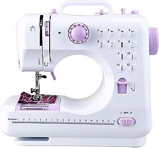 Máquina de coser para principiantes con 12 puntadas integra