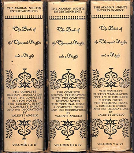The Book of the Thousand Nights and One Night - 6 volumes in  3