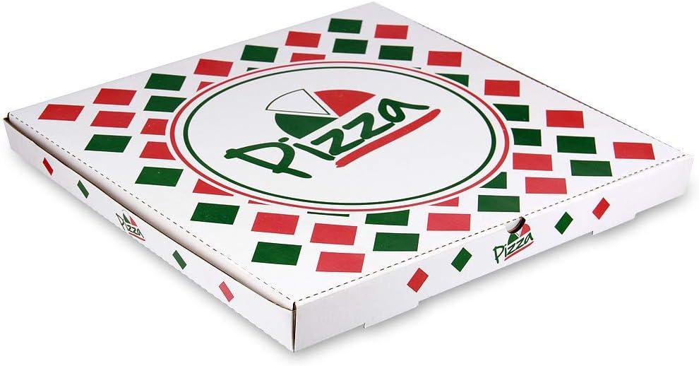 Arant Pizza Dallas Mall Detroit Mall Box Kraft White Plain 100 x In 2 16 1-1 Pack