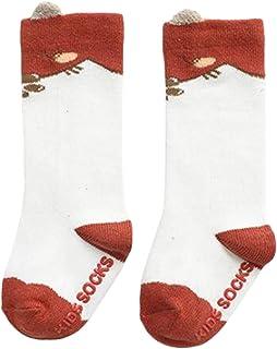 WanXingY, Calcetín Recto 3D Lana Lana Bebé Térmico Térmico Cálido Invierno Ciervos Sock Cocks Animal Calcetines de Navidad Niños Mantenga Calcetines Calientes (Color : Fox)
