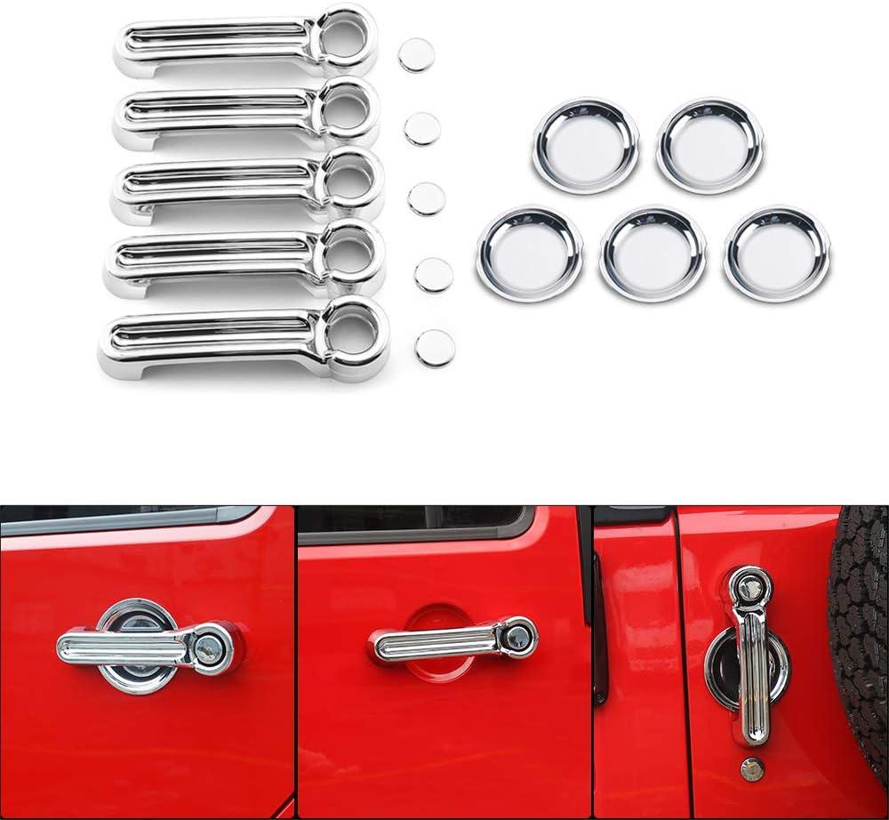 Chrome Door Handle Cover Trim Bowl Car 完売 Exteri 本物◆ Kits