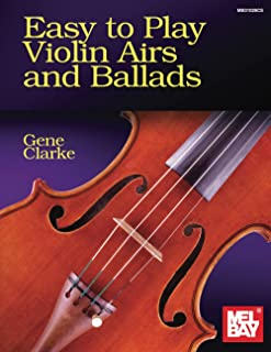 Easy to Play Violin Airs and Ballads