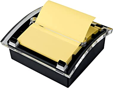 Post-it Super Sticky Pop-up Notes, 3 in x 3 in, 12 Pads, 2x the Sticking Power, Canary Yellow, Recyclable (R330-12SSC)