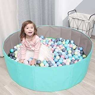 Kids Play Ball Pool Baby Round Ball Pit Comfortable Ocean Ball Pool Outdoor Indoor Nursery Baby Playpen, for Toddler Boys ...