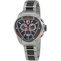 Lamborghini Spyder 1100 Chronograph Black & Slate Dial Men's Watch