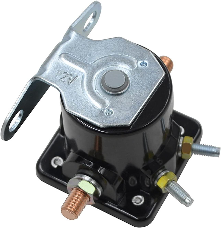VSKTE 12V Ajuste para Ford Hot Rod Starter Relay Solenoide Fit para Trabajo Pesado SW3 12- Voltio B6AZ-11450-A SW3 B-6A-11450A C6AF C9AF C9AF SS588 F496